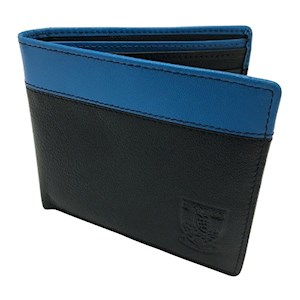 Trim leather wallet