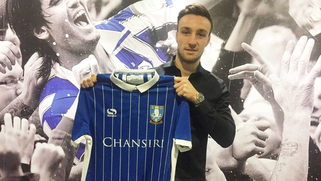 purchase cheap a768c 4c5df Morgan Fox signs for Wednesday - News - Sheffield Wednesday