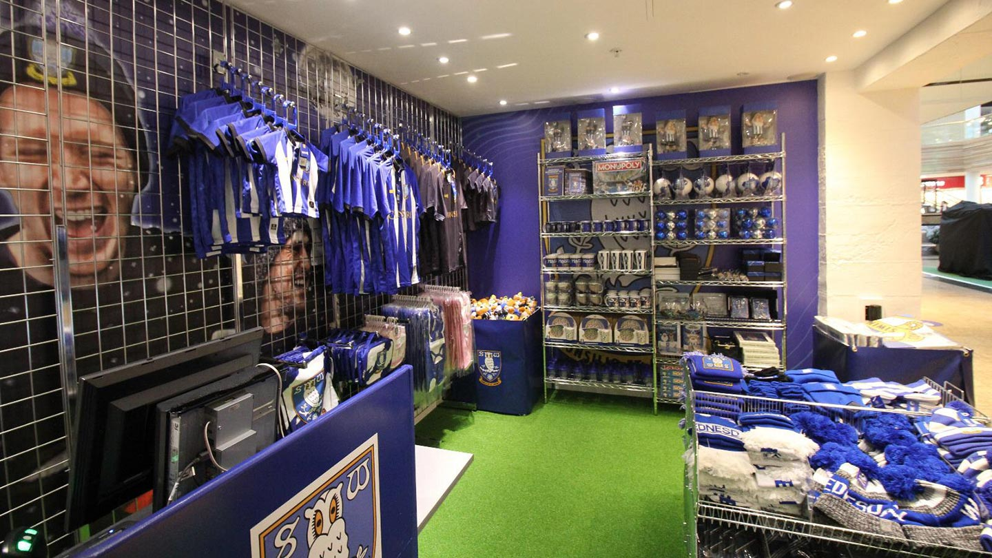 Owls Meadowhall Store Open News Sheffield Wednesday
